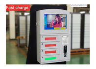 Quick Charge Wifi Fingerprint Cell Phone Charging Station Lockers Kiosks with PIN code