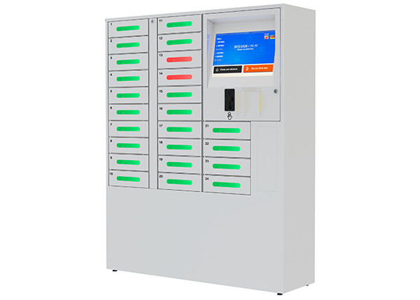 24 Doors Multiple Cell Phone Charging Station Mobile
