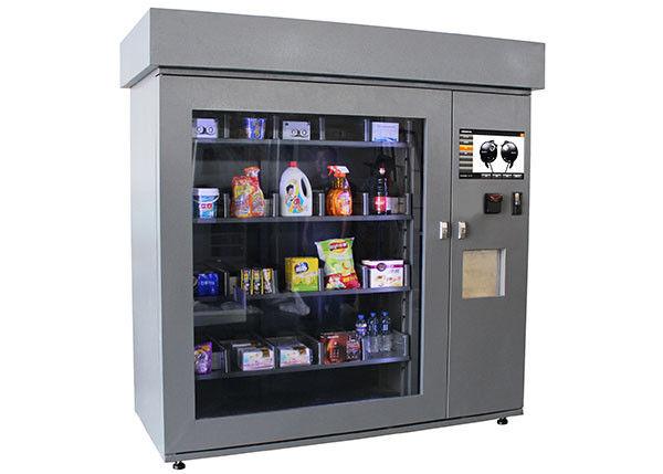 Self Service DVD Vending Kiosk , Coin Operated Multifunction Beer Vending Machines