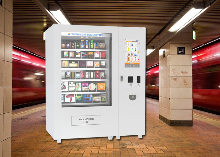 Body Lotion Bath Products Kiosk Vending Machine For Hotel