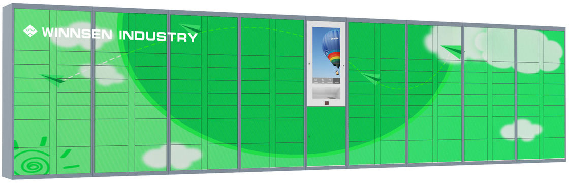 Winnsen RFID and phone number access Parcel Delivery Locker with multi languages