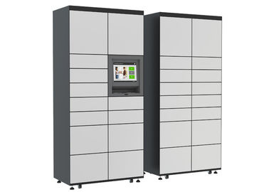 "China CE FCC Electronic Post / Mail Lockers with Advertising Videos 19"" LCD Display distributor"