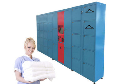 China Intelligent Sending SMS Message Laundry Locker , Self-Service Locker Delivery Service  Equipment distributor