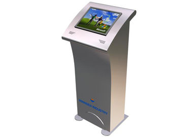 China Public Tourism Information LCD Touch Screen Kiosk Device for Train Station / Park distributor