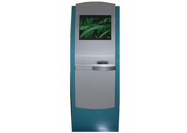 China Self Service Computer Kiosk Stand for Printing Document / Ticket / Information OEM distributor