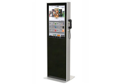 China 32 Inch Interactive Touch Screen Kiosk , Semi Outdoor Digital Signage Kiosks Machine distributor