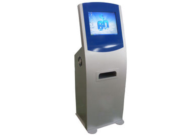China Multimedia Smart Touch Screen Self Service Kiosks with A4 Size Paper Laser Printer distributor