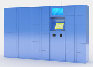 China Electronic Parcel Delivery Lockers with Secure Delivery Option Multi Languages distributor