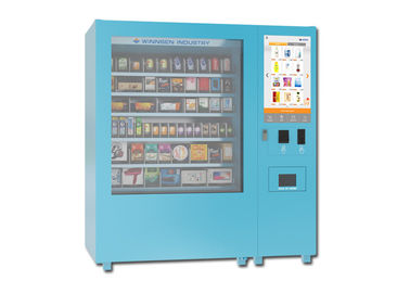 China Snack Yogurt Elevator Mini Mart Kiosk Vending Machine with 32 Inch Touch Screen distributor