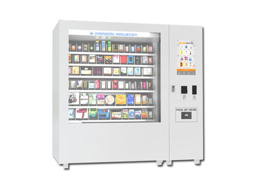 China Professional Large Capacity Automatic Vending Machine For School / Train Station distributor